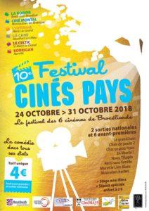 Affiche Ciné Pays du 24 au 31 octobre 2018