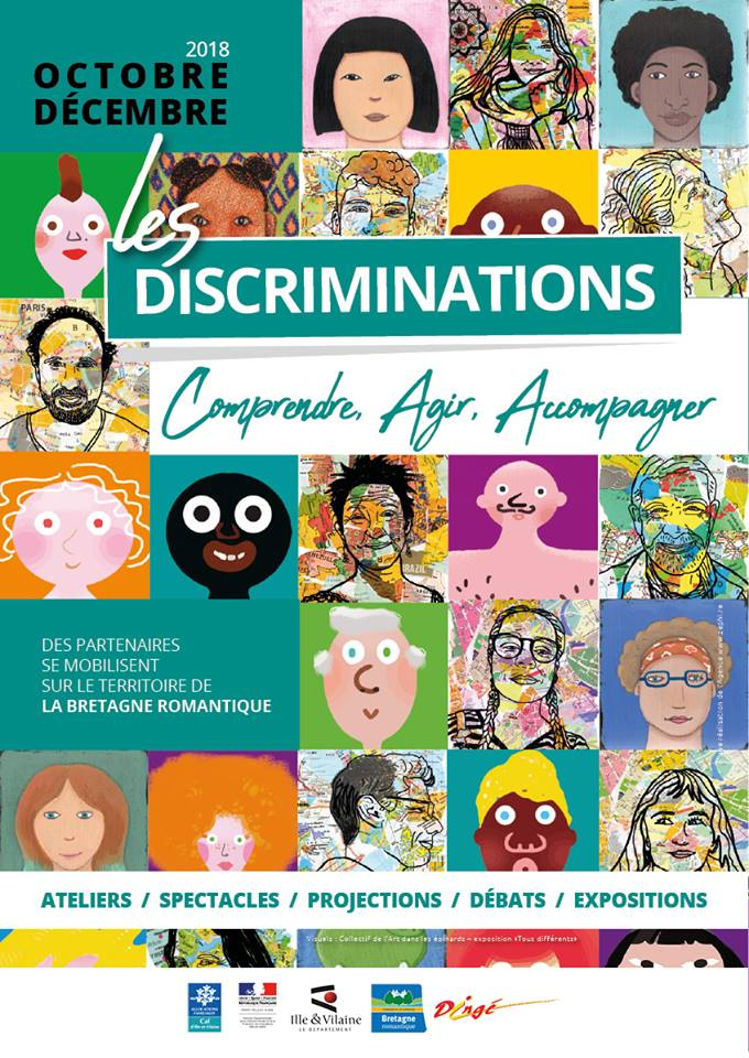 Affiche temps forts discriminations